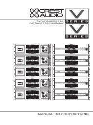 V/Vs Manual (Port) rev - Crest Audio