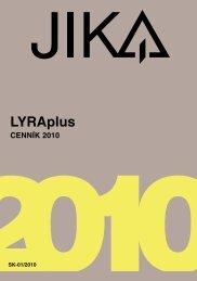 cennik Jika LYRA plus SK 2010