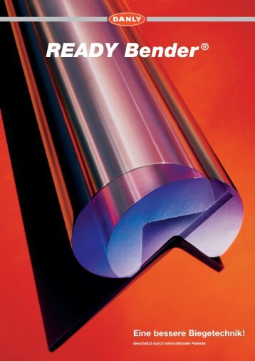 READY Bender® Eine bessere Biegetechnik! - Danly CZ