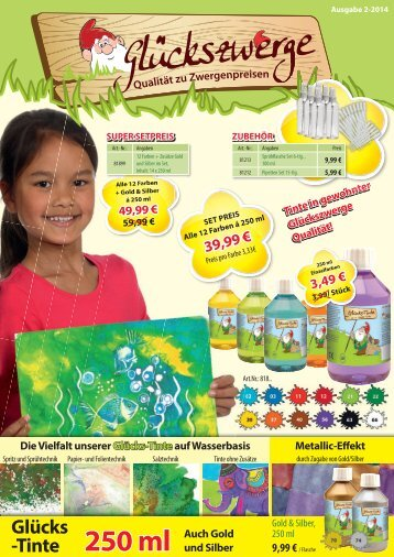 Glückszwerge Mailing Deutschland 2-2014