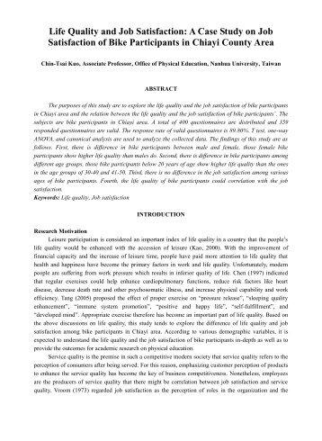 Case study for job satisfaction   Buy Original Essays online Scribd