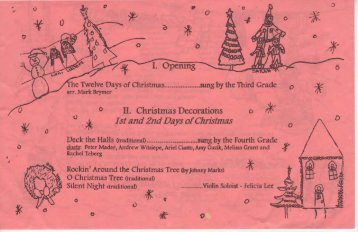 II. Christmas Decorations - Jim Skaleski