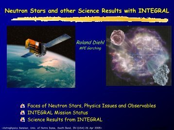 Neutron Stars and other Science Results with INTEGRAL
