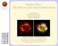 Neutron Stars: The Richest of the Neutron-Rich Nuclei