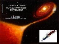 CLASSICAL NOVA NUCLEOSYNTHESIS: EXPERIMENT
