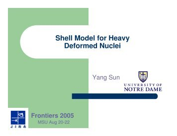 Shell Model for Heavy Deformed Nuclei