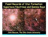 Fossil Records of Star Formation: Supernova Neutrinos and Gamma ...