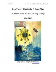 A Road Map - The Joint Institute for Nuclear Astrophysics