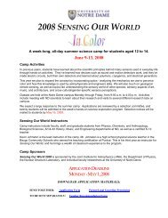 Sensing Our World - The Joint Institute for Nuclear Astrophysics