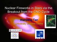 Nuclear Fireworks in Stars via the Breakout from the CNO Cycle