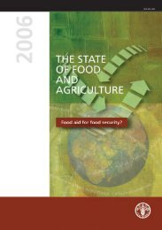 The State of Food and Agriculture - FAO