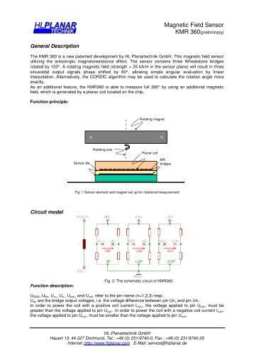 Magnetic Field Sensor