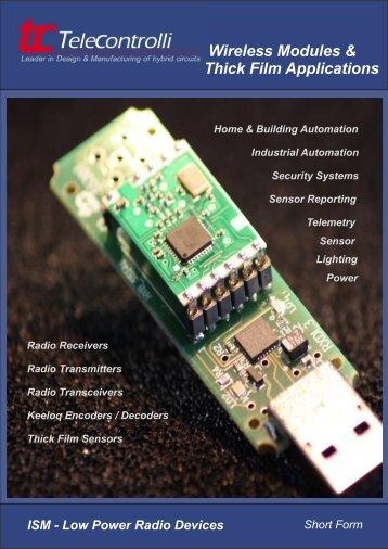 Wireless Modules & Thick Film Applications - JIN ZON