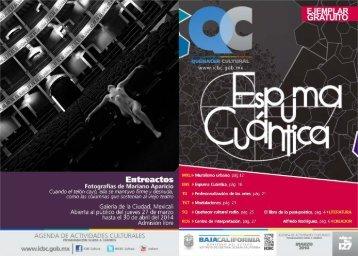 Quehacer Cultural del ICBC Marzo 2014