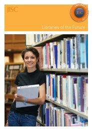 Libraries of the Future brochure - Jisc