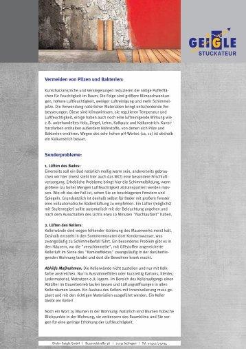 Gesundes Wohnen ohne Schimmel (pdf)