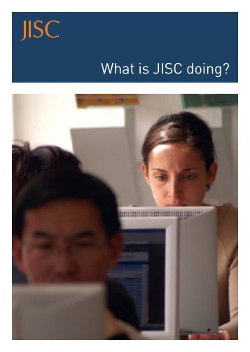 What is JISC doing?