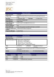 Final Report - Jisc