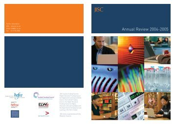 Annual Review 2004-2005 - Jisc