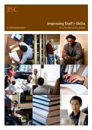Improving Staff i-Skills - Jisc