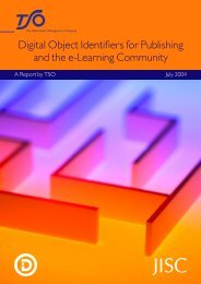 DOI report - Jisc