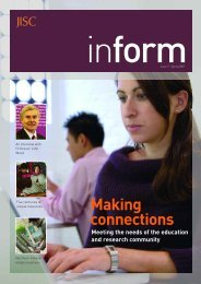 Inform 17: Making connections - Jisc