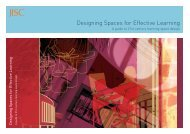 Designing Spaces for Effective Learning A guide to 21st ... - Jisc