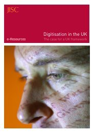 Digitisation in the UK - Jisc
