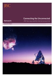 Connecting the Unconnected - Jisc