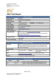 COWL Final Report - Jisc
