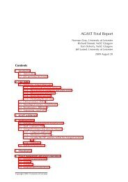 AGAST Final Report - Jisc