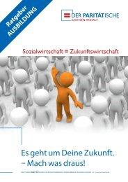 Broschüre Ausbildung - Der PARITÄTISCHE Sachsen Anhalt