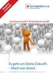 Ratgeber STUDIUM - Der PARITÄTISCHE Sachsen Anhalt
