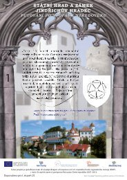 Jindřichův Hradec hrad a zámek