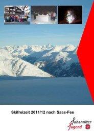 und Snowboardfreizeit Saas-Fee 2011 - Info (pdf)