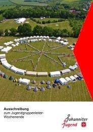 (Reimlingen) 09.-11.11.2012 Ausschreibung (pdf) - Johanniter-Jugend