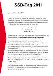 SSD Tag 25.-27.02.2011 Ausschreibung (pdf) - Johanniter-Jugend ...