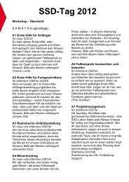 SSD Tag 24.-26.02.2012 Workshop (pdf)