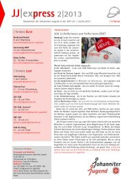 JJ express 2 2013 PDF - Die Johanniter