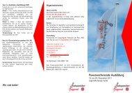 Power-Wochenende Ausbildung (Fulda) 18.-20.11.2011 Info (pdf)