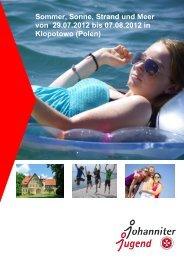 Sommerfreizeit 2012 Ausschreibung (pdf)