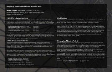 2012_11_24 Portfolio JK McGill.pmd - J. Kargon