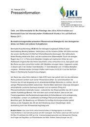 16-02-11 PI Mundus vini biodfachmesse - Julius Kühn-Institut - Bund ...