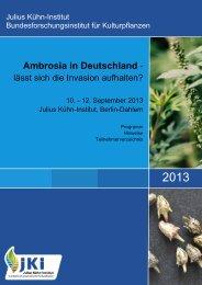 23-09-13 PI Programmheft-Ambrosiatagung - Julius Kühn-Institut
