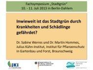 Bekämpfung - Julius Kühn-Institut - Bund.de