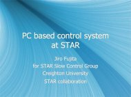 Migrating the STAR Slow Controls System to PCs