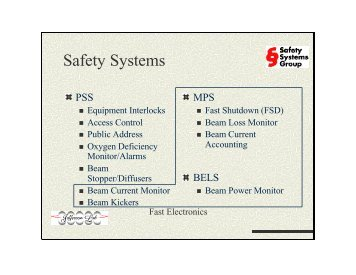 Safety Systems Availability