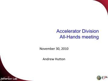 November 30, 2010 - Jefferson Lab