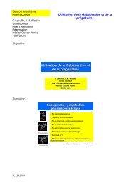 Gabapentine prégabaline - JLAR