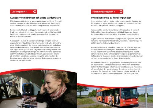 Framtidens persontrafik - Veolia Transport
